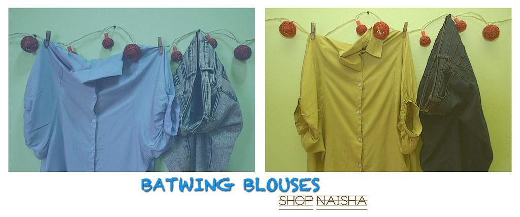 Shop Naisha Batwing