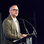 Cory Doctorow on stage