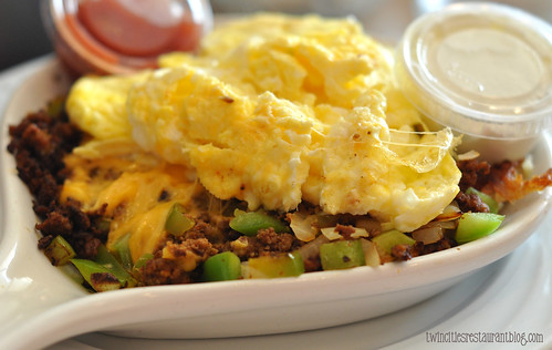 South of the Border Skillet at Maple Tree Family Restaurant ~ Elmhurst, IL