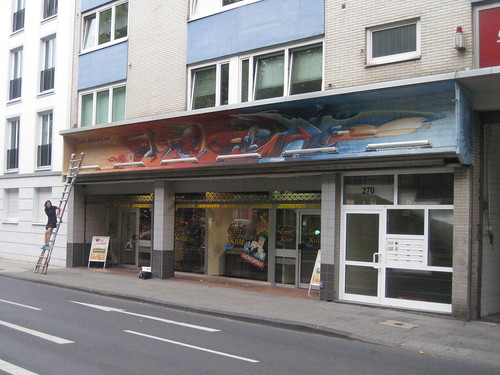 Älteres Kunstwerk von SEAK für Kunden restauriert