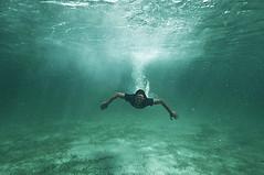 oh yeah (iko) Tags: me underwater corsica superman