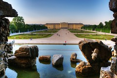 Castello Schönbrunn (socrates197577) Tags: vienna nikon niceshot castello hdr castelli giardino città photomatix ringexcellence