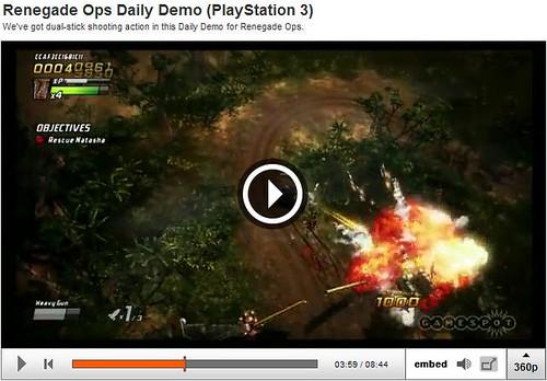 Renegade Ops - Gamespot