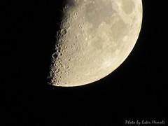 Moon, Luna. ISO-80, exp. 1/30s, zoom 4