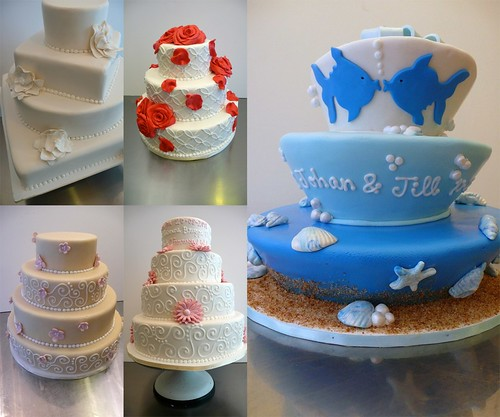 Sweet Things Wedding Cakes by CAKE Amsterdam - Cakes by ZOBOT