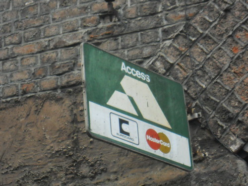 Old Access sign