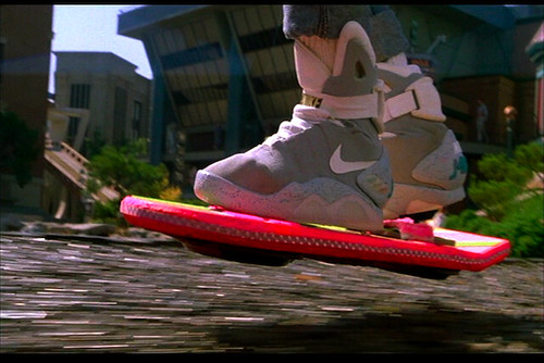 way we ll have flying cars everywhere and hover boards in 2015