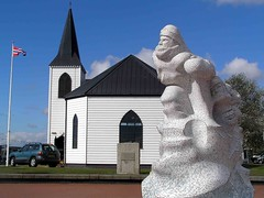 "Norwegian Church & Scott Memorial • <a style=""font-size:0.8em;"" href=""http://www.flickr.com/photos/36398778@N08/6069386594/"" target=""_blank"">View on Flickr</a>"