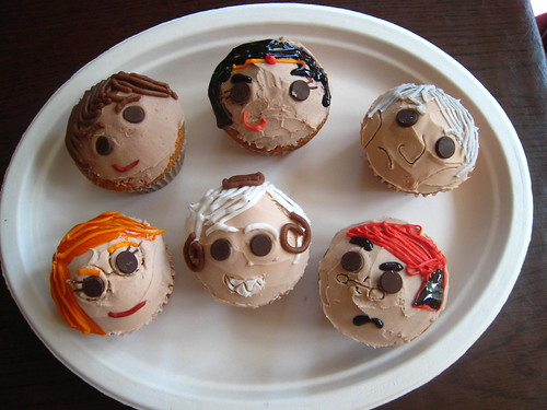 Girl Genius Cupcakes by Emu Pics