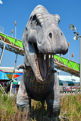 T-Rex at Funtown Pier