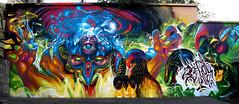 BREAK X EGRIX (BREakONE) Tags: park black wall painting de effects graffiti montana break character eger graffity skate colored rooster galo barcelos cfs 2011 egrix breakone gsby