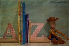AZ (JustaMonster) Tags: letters woody az books bookends odc2 ourdailychallenge
