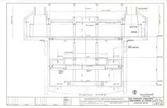 Montgomery Street Station, Transverse Section (1967) (Eric Fischer) Tags: drawing bart plan bayarearapidtransit