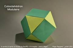Cuboctahdron (Papygami) Tags: insectos animals paper de origami pattern object traditional insects objetos modular diagram animales boxes cubes papel cp simple animaux objet papier complex crease dinosaurs folding polygons insectes diagrama diagramme cubic cocottes intermediate dinosaurios complexe botes cbico cajas dinosaures complejo pajaritas traditionnel tradicionales pliage intermdiaire modulares plegado modulaire polgonos intermediario polygones papygami