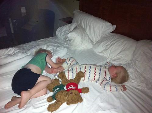 barnen sover