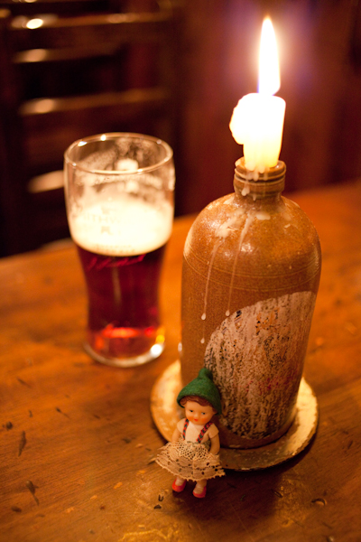 watch out for the gnome when he drinks...