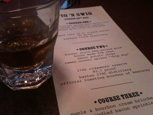 Course Two: 1792 Ridgemont Reserve Bourbon