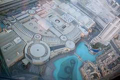 Ariel View of The Dubai Mall! (Deborah S-C) Tags: lake hot architecture mall dubai views impressive arielview observationdeck tallestbuilding 47degrees dubaimall burjkhalifa dubaiaugust2011 level124