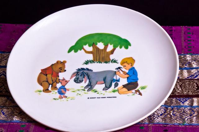Pooh Plate