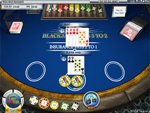 Blackjack Rival game