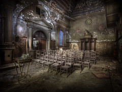 The Black Church  :: (andre govia.) Tags: building abandoned church buildings photo photos decay places best andre creepy explore derelict ue govia