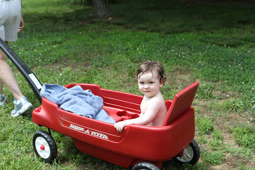 So much depends upon a red wagon.
