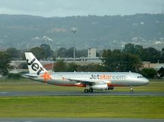 Jetstar A320 on rwy 23 at Adelaide Airport (chrismc38) Tags: tarmac airport airbus adelaide jetstar qantas rex saab runway 737 a320 340 boeing767 emb190 virginaustralia gatetaxiing