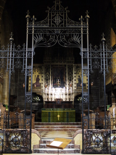 Altar, Old St Paul's
