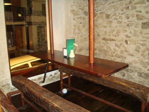 Mesas altas interiores