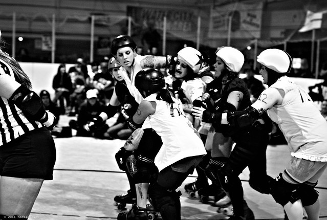 roller derby mayhem