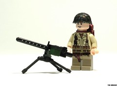 M1919 Custom Tripod and Ammo Box (\TheBricker\) Tags: box tripod custom ammo m1919