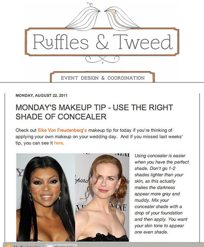 "Ruffles  & Tweed : USE THE RIGHT SHADE OF CONCEALER • <a style=""font-size:0.8em;"" href=""http://www.flickr.com/photos/13938120@N00/6094036363/"" target=""_blank"">View on Flickr</a>"