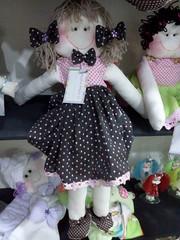 Menina Arteira (Catia Menina Arteira) Tags: de bonecas feltro boneca patchwork menina sonho presente venda pirulito maternidade enfeite compra moldes arteira