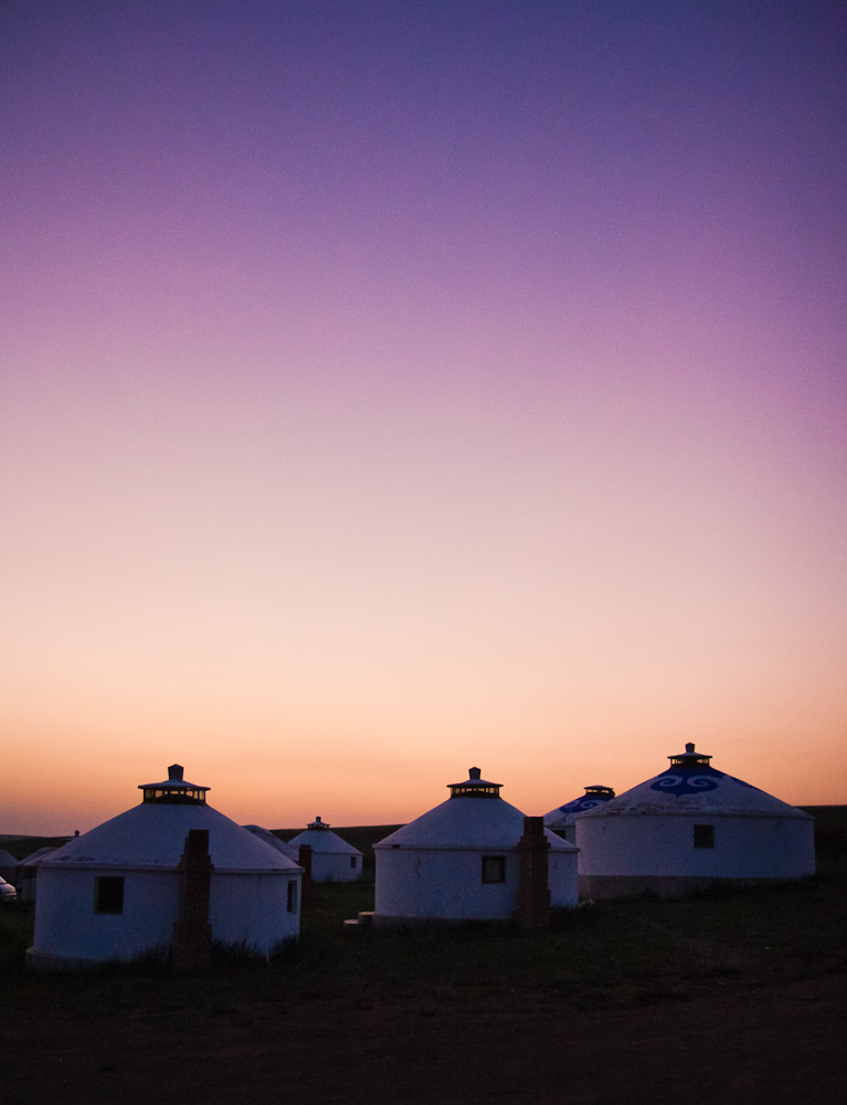 Purple Yurt