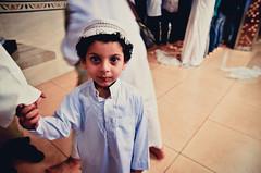 Eid Mubarak. (A. adnan) Tags: guangzhou china portrait cute beautiful smile religious kid outfit nikon dof traditional religion arab tamron f28 prayers eidulfitr eidmubarak d7000 aadnan613