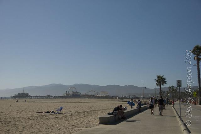 D1 santa monica beach