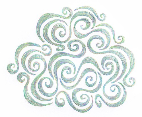 Swirly Emblem - Copyright R.Weal 2011