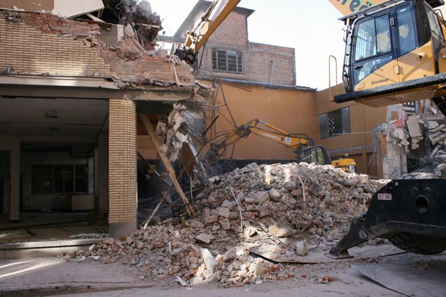 Verdere afbraak garare (24-25 maart 2011)
