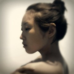 [フリー画像] 人物, 女性, アジア女性, 横顔, 日本人, 201109050900