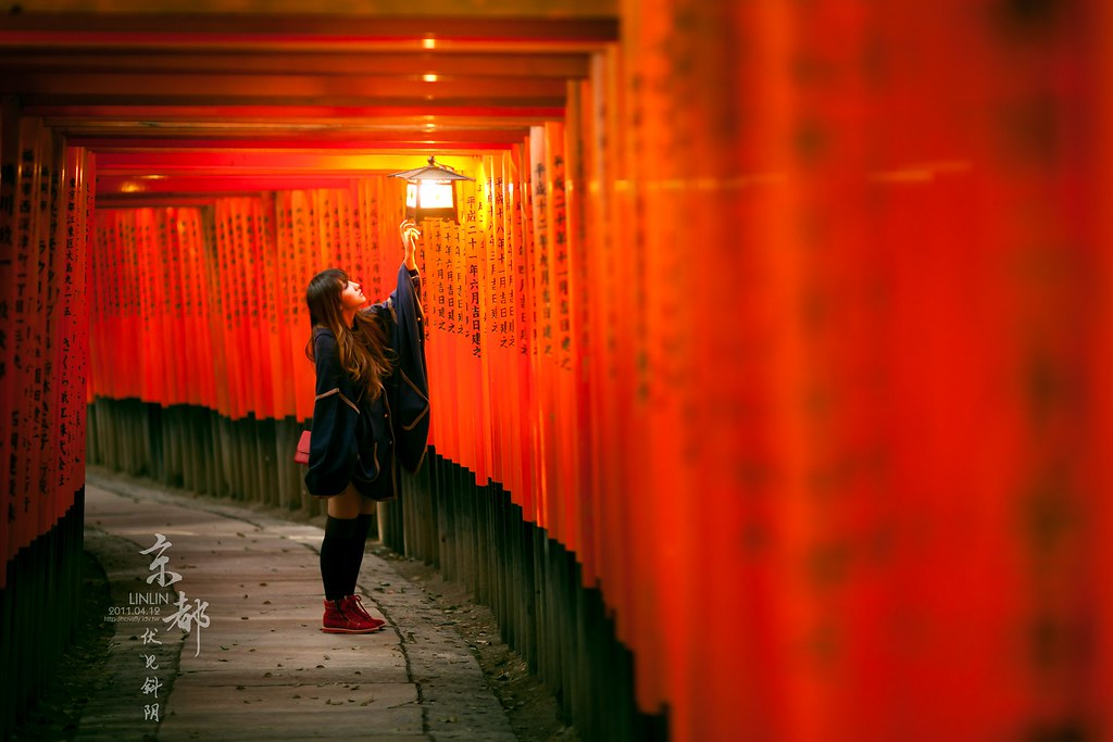 [LINLIN]京都.伏見斜陽