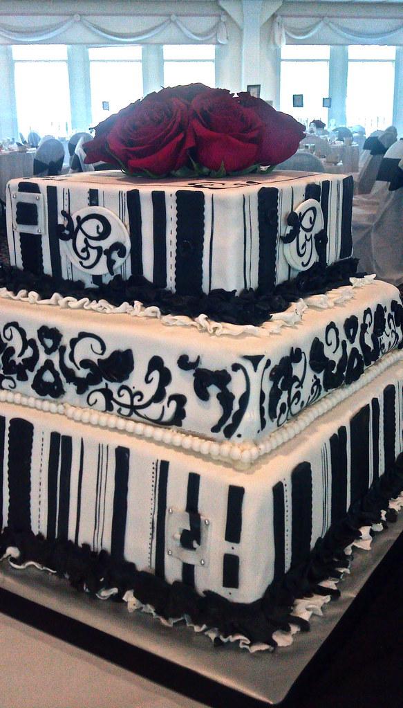 Parisian Wedding Cake