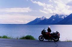 MM22 (kzzzkc) Tags: usa day grand olympus motorcycle wyoming teton concours om1 kawasaki jacksonlake zg1000 pwpartlycloudy