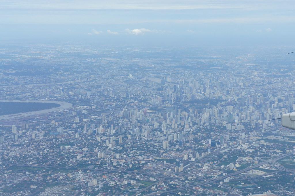 Bangkok desde el aire