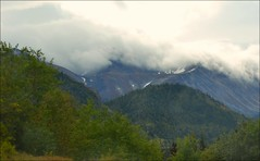 Klondike Highway - Clouds (blmiers2) Tags: travel mountain mountains nature alaska clouds landscape nikon highway klondike d3100 blm18 blmiers2