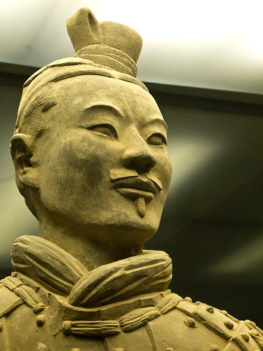 Terracotta army headshot