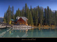 "Emerald Lake, the Jewel of Yoho National Park (Joalhi ""Back in Miami"") Tags: canada britishcolumbia emeraldlake yohonationalpark supershot coth5"