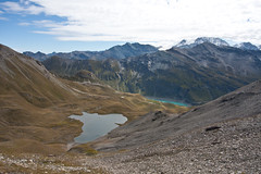 Lac des Autannes and Lac de Moiry Photo