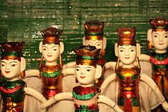 Vietnamese water puppets (jepoirrier) Tags: water theatre puppet vietnam fairy fairies hu marinc
