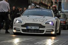 Aston Martin V8 Vantage by Mansory - Gumball 3000 Paris (05-2011) (Automartinez) Tags: paris sport canon eos automobile place martin police voiture course mai cooper mate passage 3000 blanc supercar alban v8 aston gumball rallye vantage 2010 vendome 500d pietons gumball3000 joachin vendôme mansory maximilion photographye évenement 55250mm automartinez