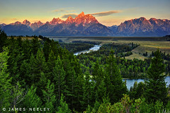 A New Day (James Neeley) Tags: sunrise landscape tetons hdr grandtetonnationalpark gtnp snakeriveroverlook 5xp jamesneeley